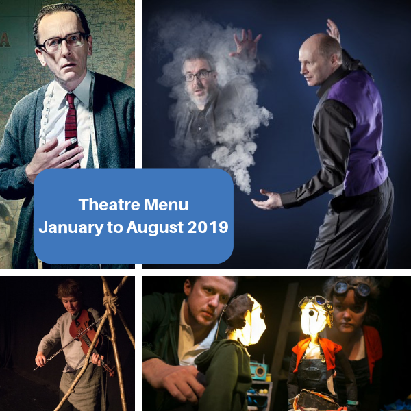 Theatre Menu January to August 2019