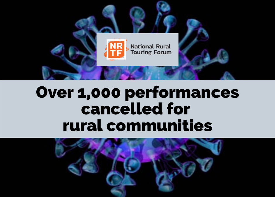 Over 1,000 performances cancelled for rural communities across the UK due to virus.