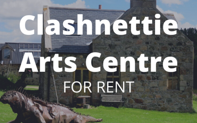 Clashnettie Arts Centre For Rent